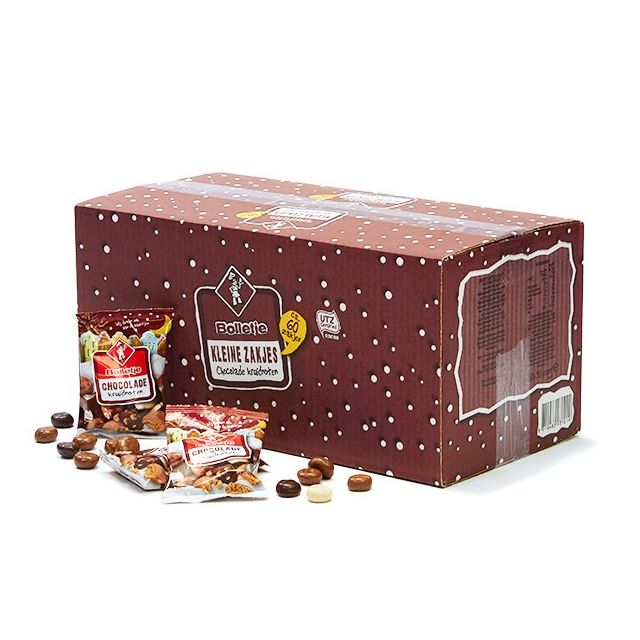 Bolletje chocolade kruidnoten uitdeeldoos