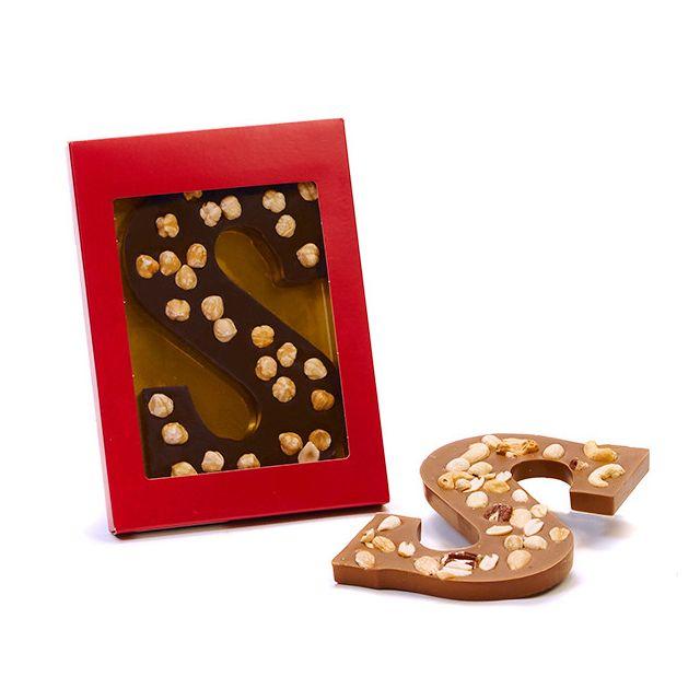 Chocoladeletter S Noten