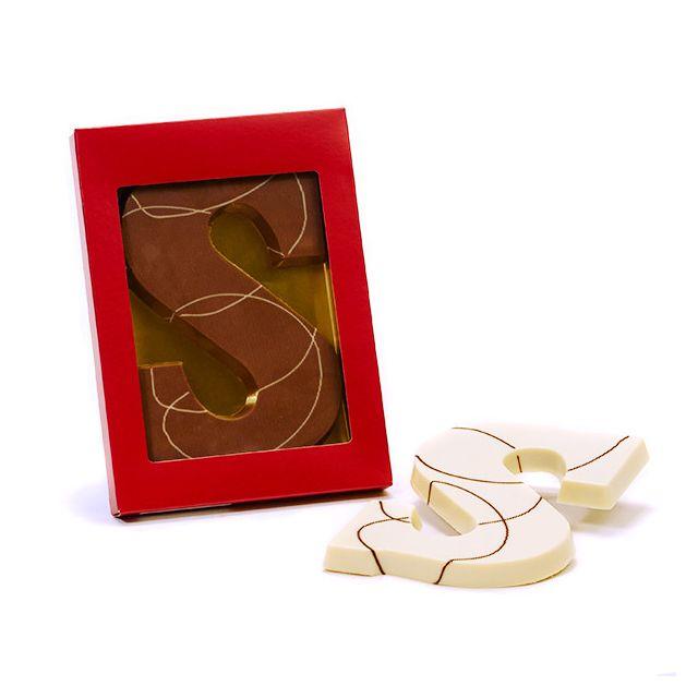 Chocoladeletter S Praline