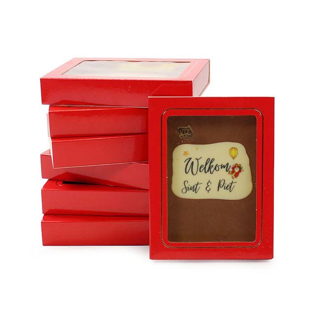 Chocoladetablet - Sint en Piet