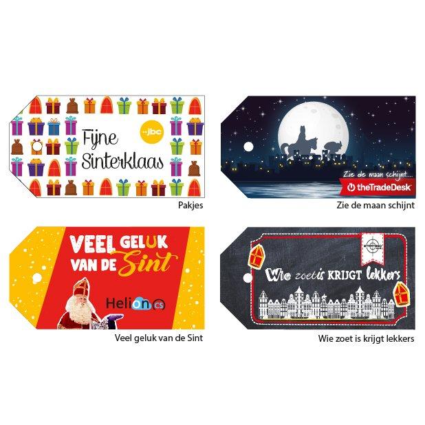 Standaard Sinterklaas tags ontwerpen