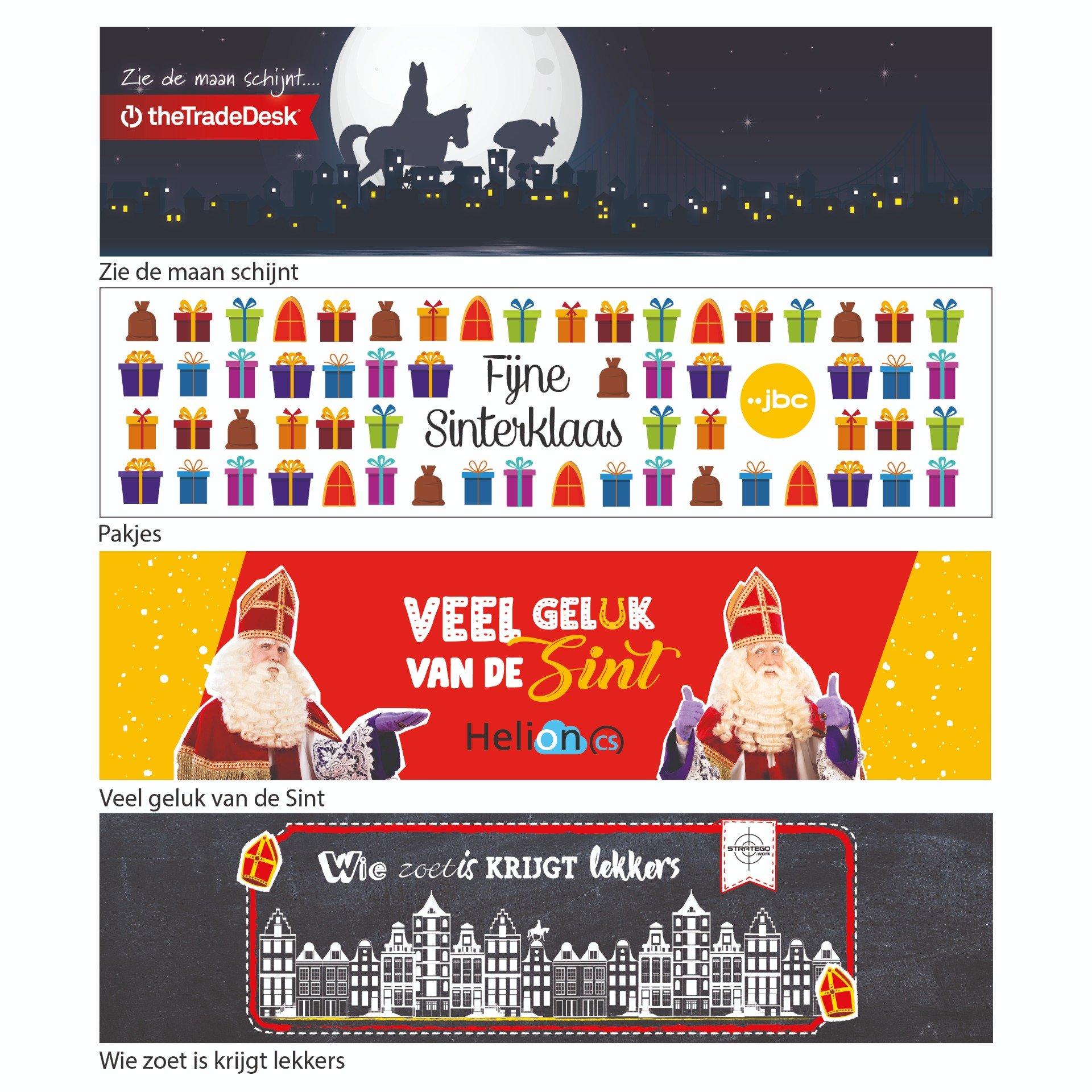 Labels Sinterklaas