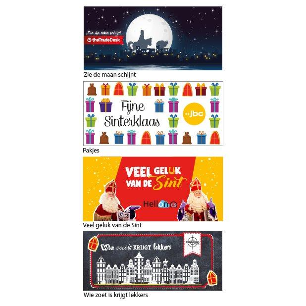 Standaard ontwerpen Sinterklaas - topkaartje