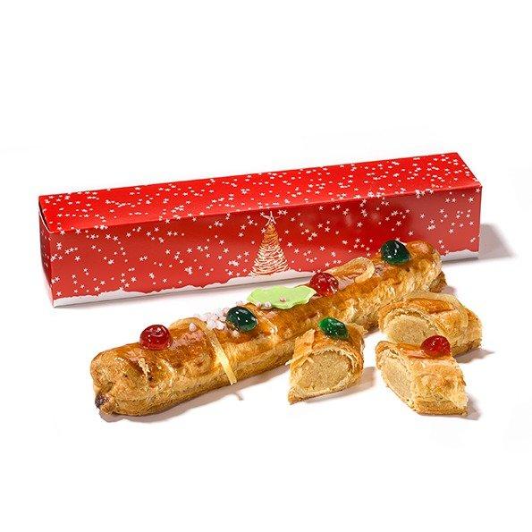 Kerst banketstaaf vruchten topping
