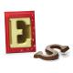 Chocoladeletter A t/m Z, 175 gram