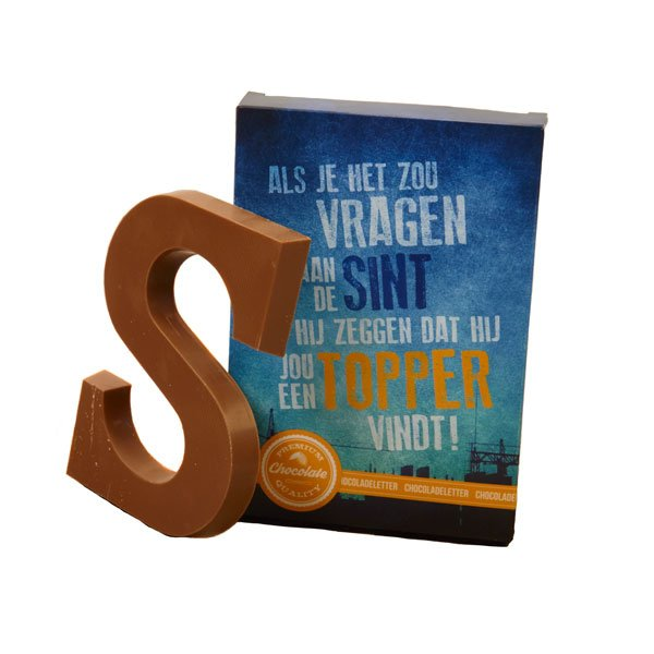 Chocoladeletters Topper!
