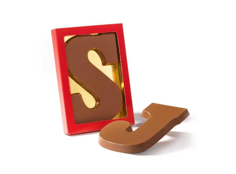 Chocoladeletter A-Z, 200 gram