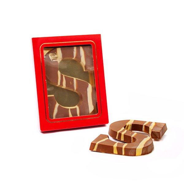 Chocoladeletter marmer