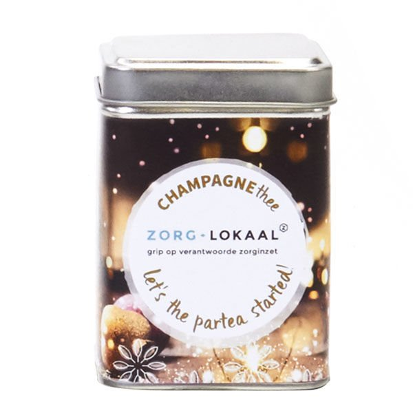 champagne thee in blik - 100 gram