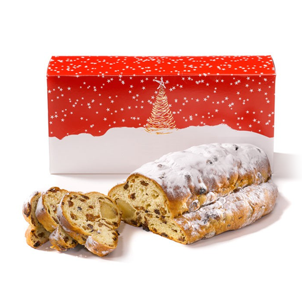 Kleine kersstol - vers gebakken op bestelling