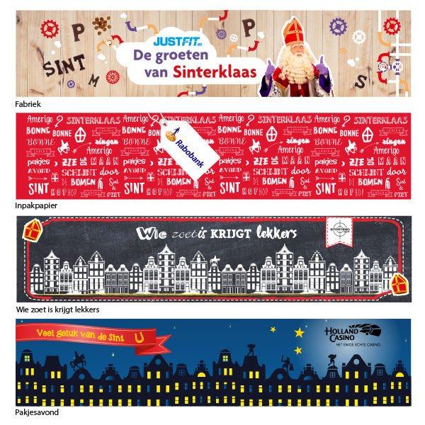 Sinterklaasontwerpen 2019