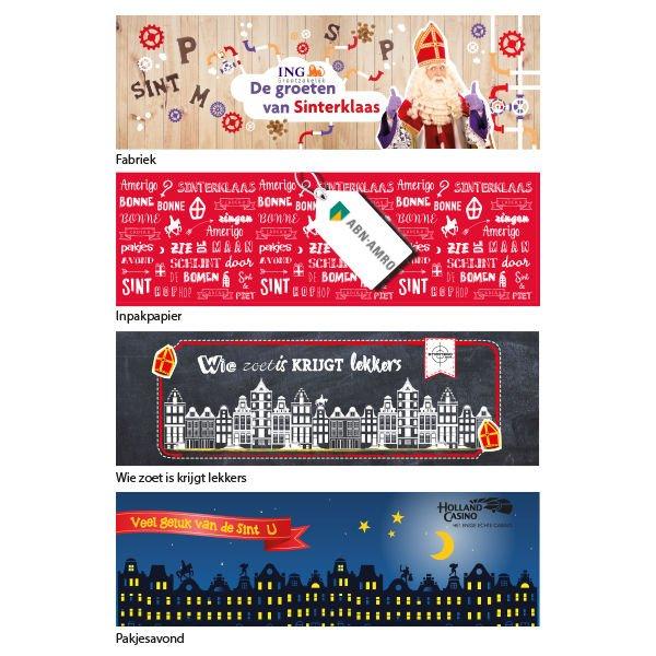 Standaardontwerpen Sinterklaas