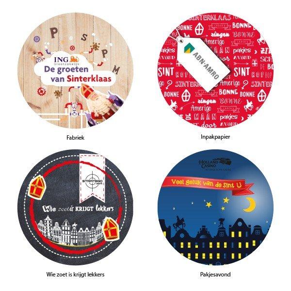 Stickers sinterklaas thema