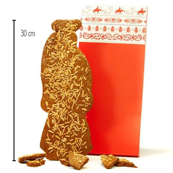 Roomboter speculaaspop van 250 gram - ca. 30 cm