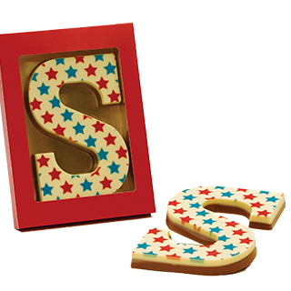 Chocolade<br>letters